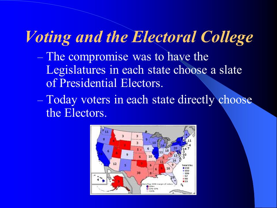 Voting and the Electoral College