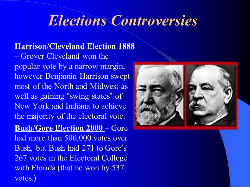 Elections Controversies