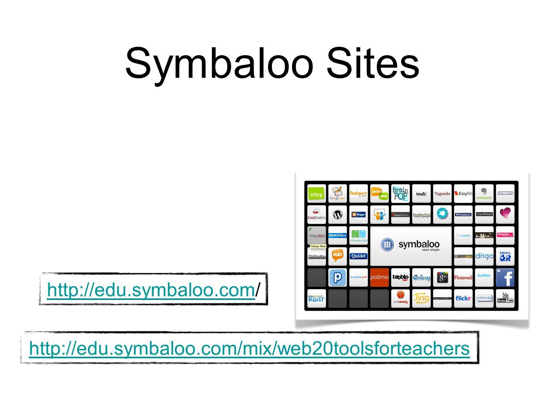 Symbaloo Sites http://edu.symbaloo.com/