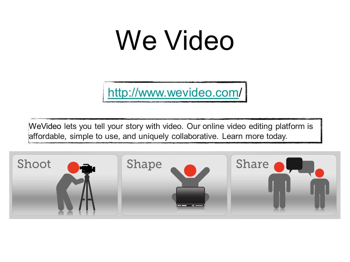 We Video http://www.wevideo.com/
