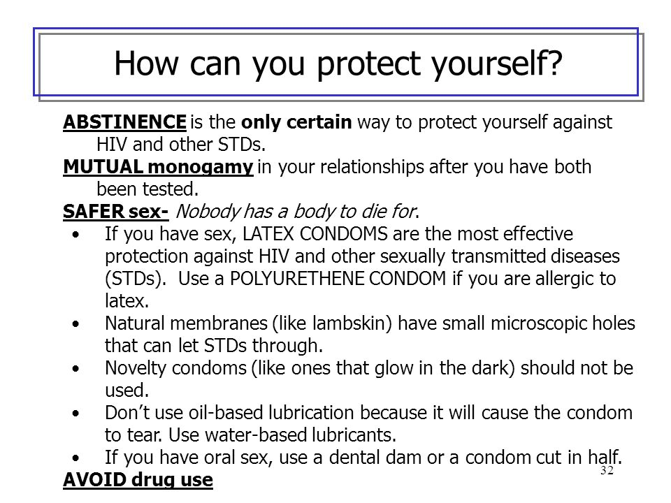 How can you protect yourself