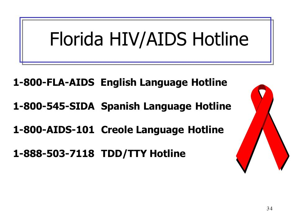 Florida HIV/AIDS Hotline