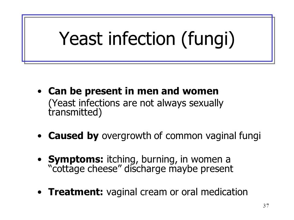 Yeast infection (fungi)