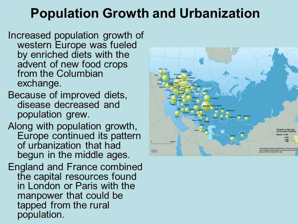 Population Growth and Urbanization