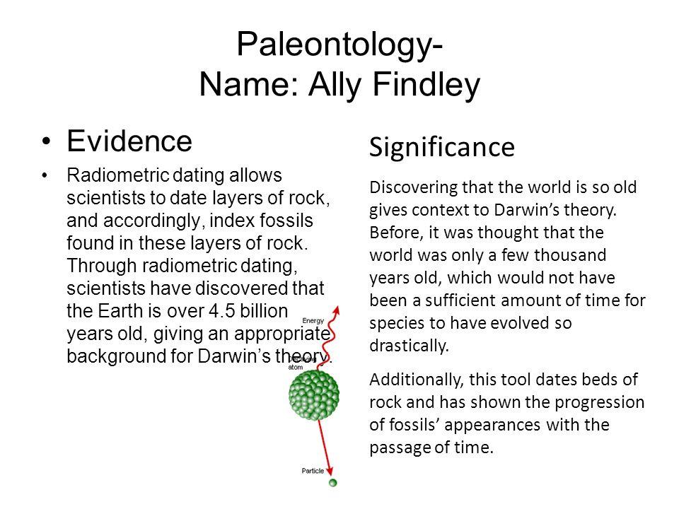 Paleontology- Name: Ally Findley