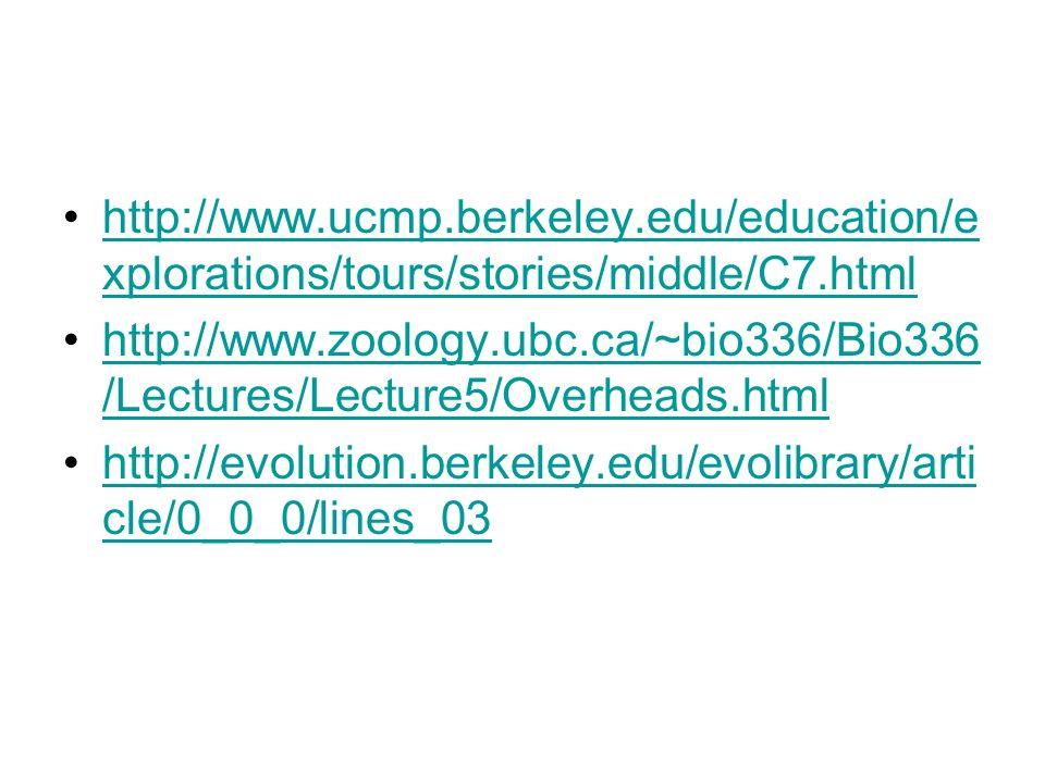 http://www. ucmp. berkeley