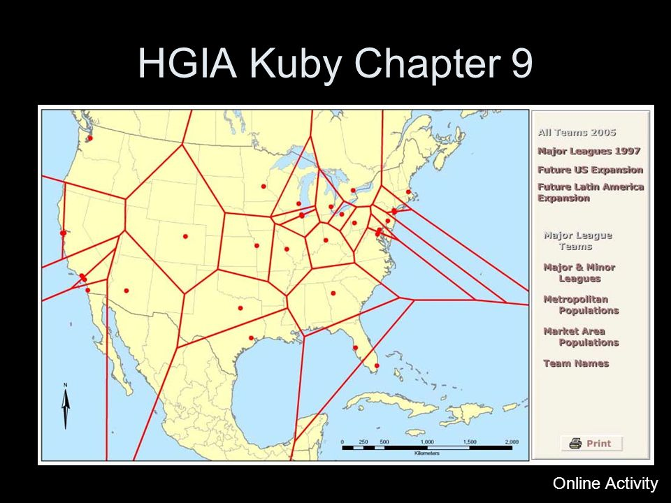 HGIA Kuby Chapter 9 Online Activity