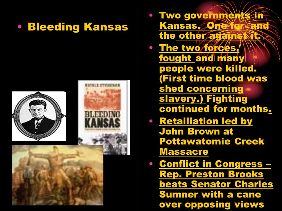 Two governments in Kansas. One for and the other against it.