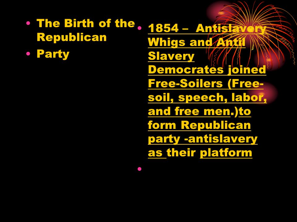 The Birth of the Republican
