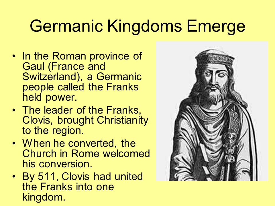 Germanic Kingdoms Emerge