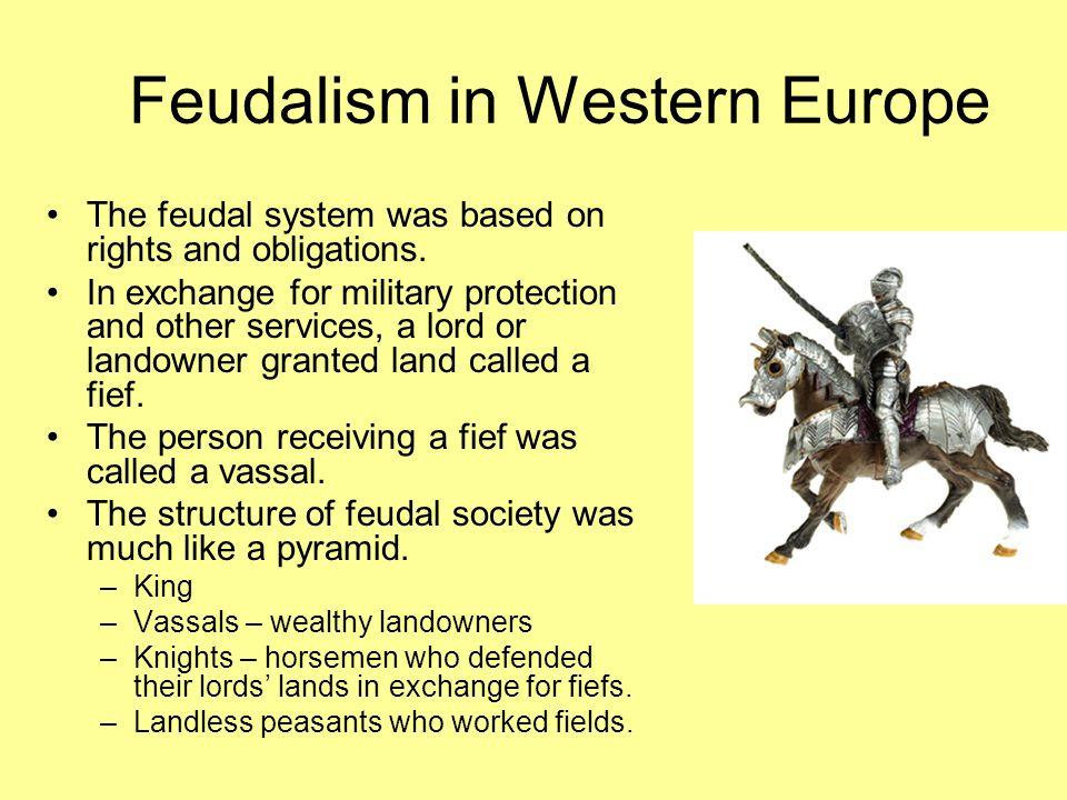 Feudalism in Western Europe