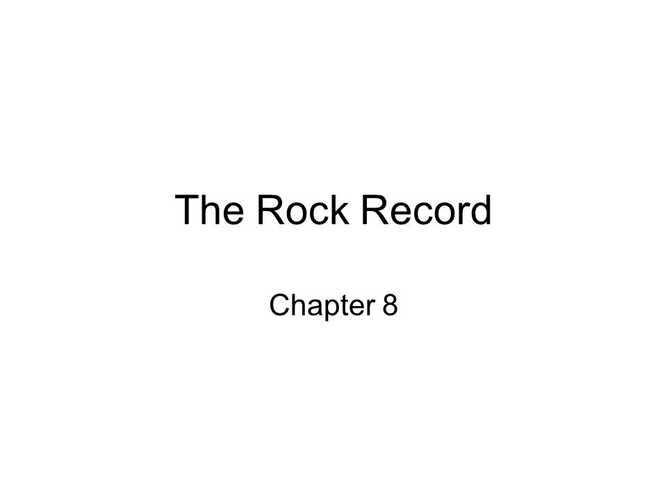 The Rock Record Chapter 8
