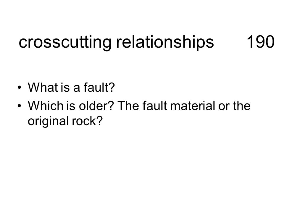 crosscutting relationships 190