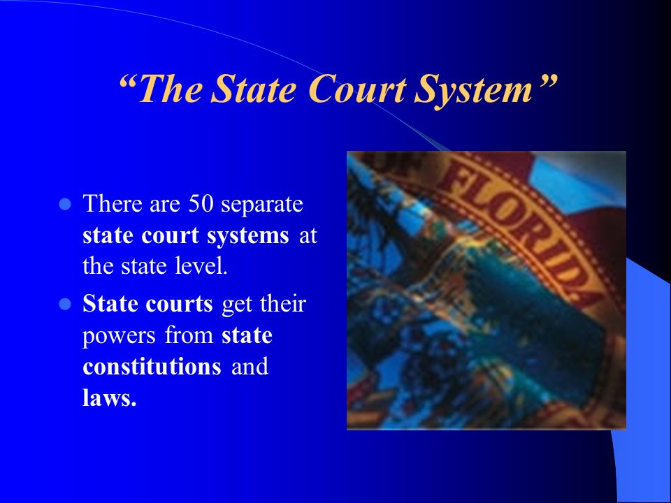 The State Court System