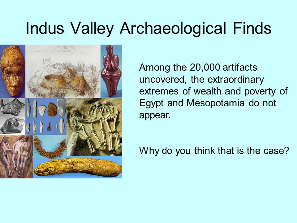 Indus Valley Archaeological Finds