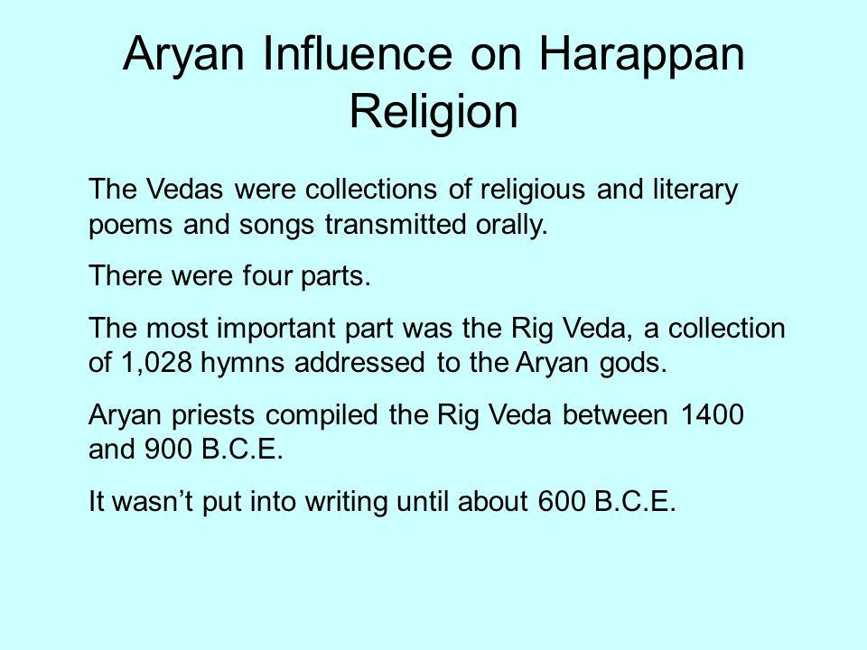 Aryan Influence on Harappan Religion