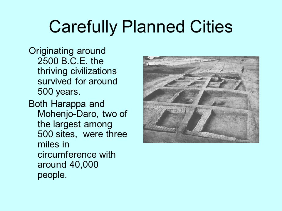 Carefully Planned Cities