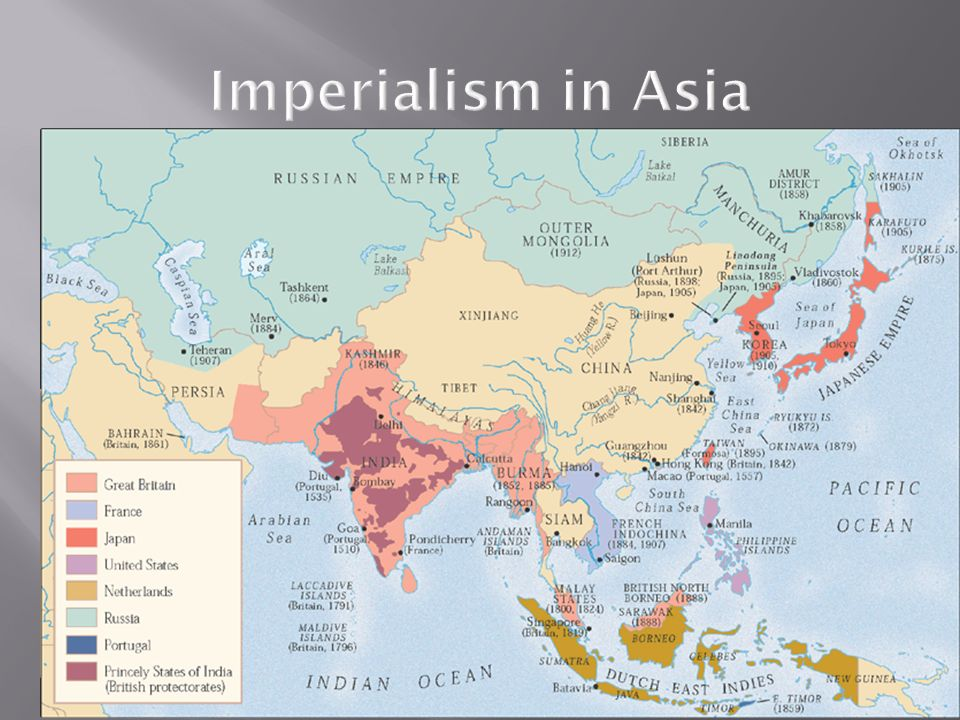 Imperialism in Asia Page: 942