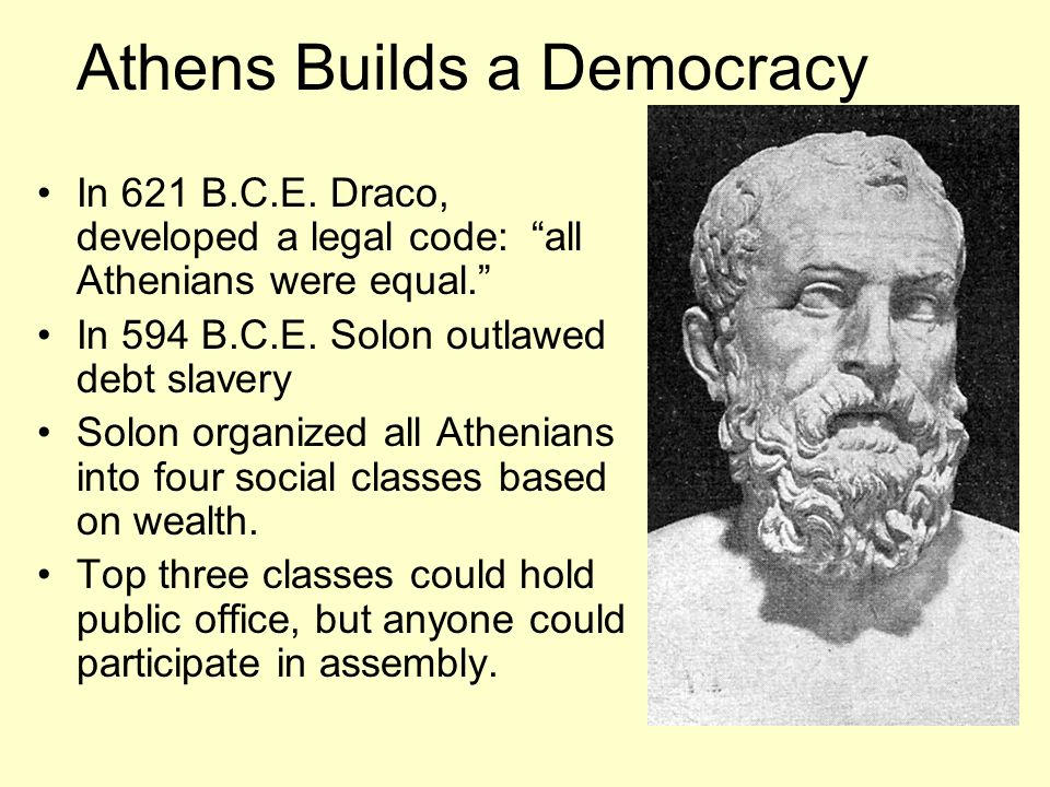 Athens Builds a Democracy