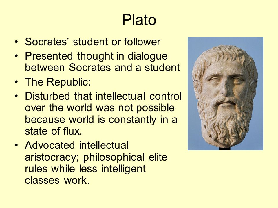 Plato Socrates' student or follower