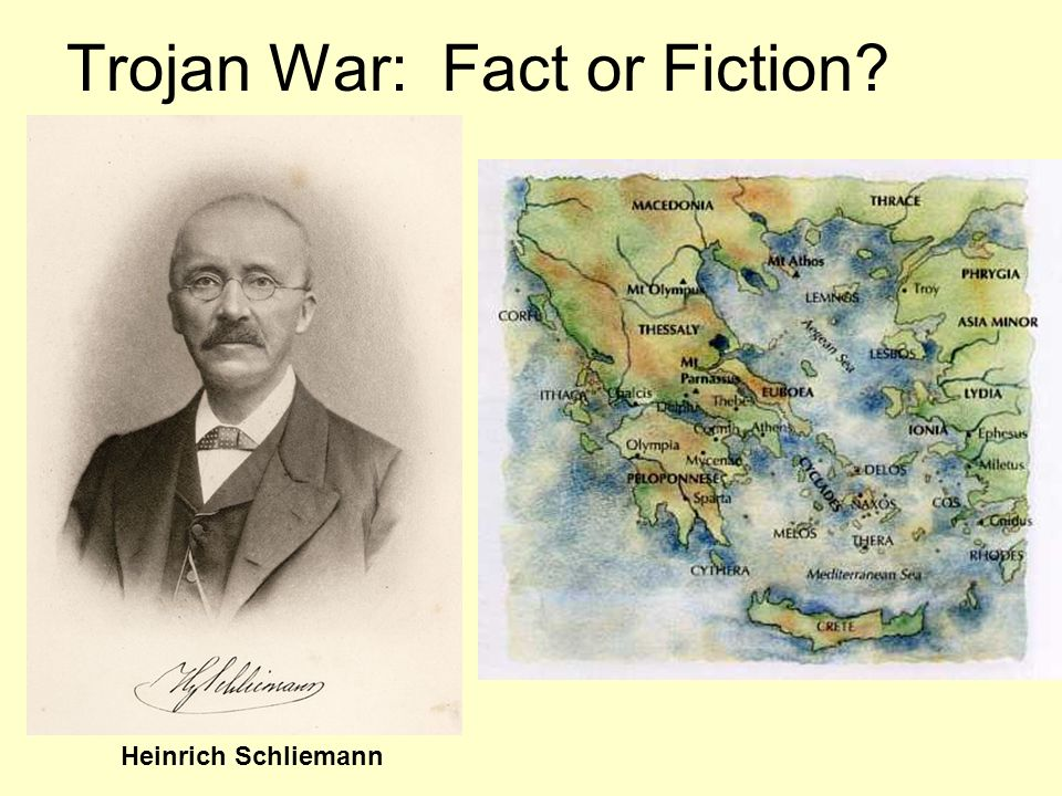 Trojan War: Fact or Fiction