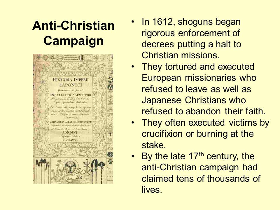 Anti-Christian Campaign