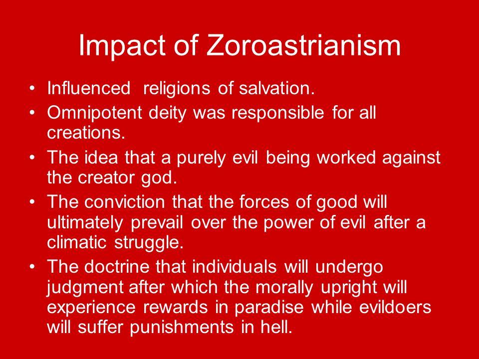 Impact of Zoroastrianism