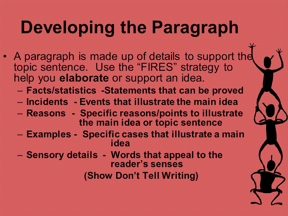 Developing the Paragraph