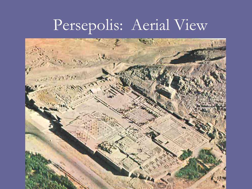 Persepolis: Aerial View