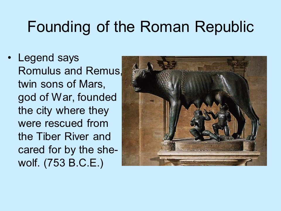 Founding of the Roman Republic