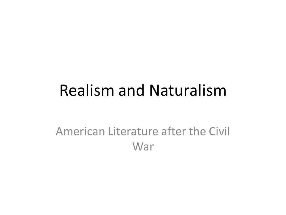 realism and modernism in english literature Realism and modernism not only many connections can be made between the literature of the late 19th century realism and modernism vs realism.