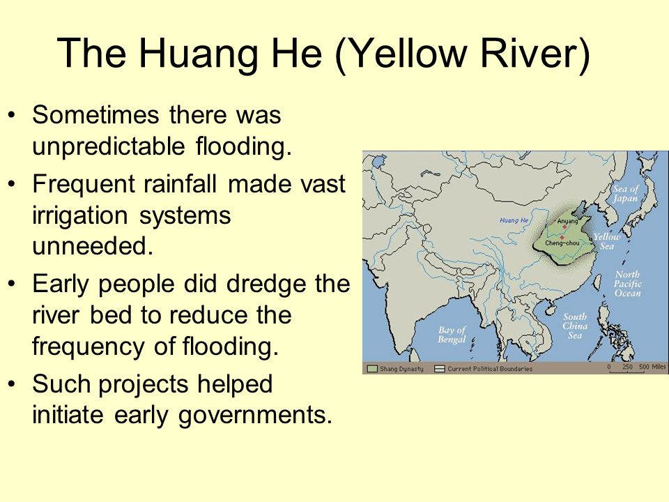 The Huang He (Yellow River)