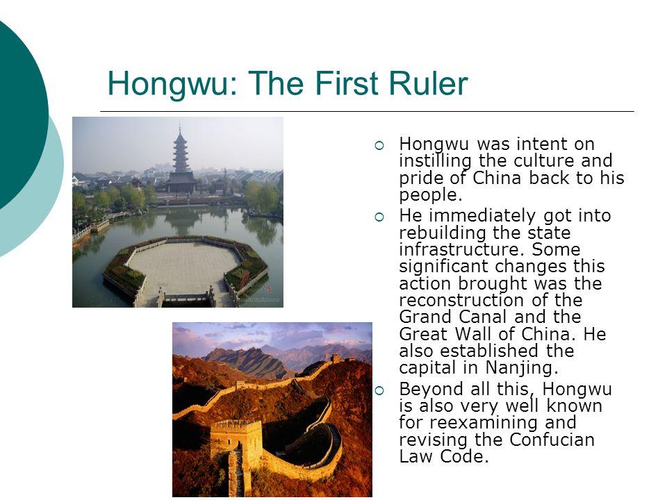 Hongwu: The First Ruler