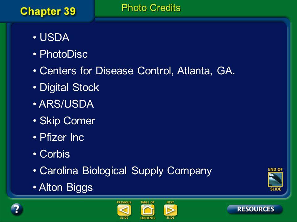 Centers for Disease Control, Atlanta, GA. Digital Stock ARS/USDA