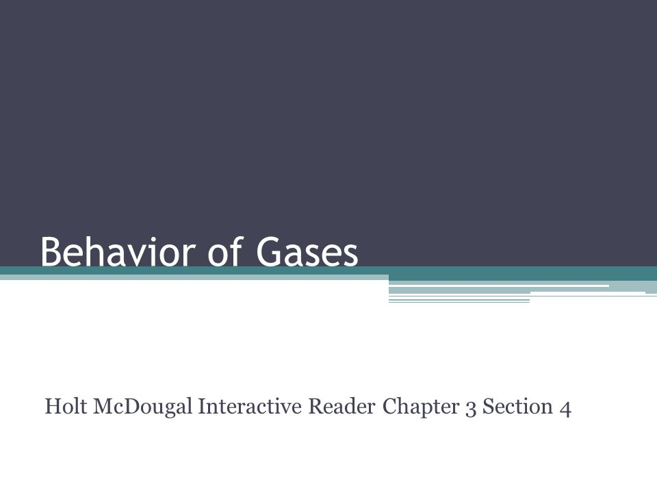 Holt McDougal Interactive Reader Chapter 3 Section 4