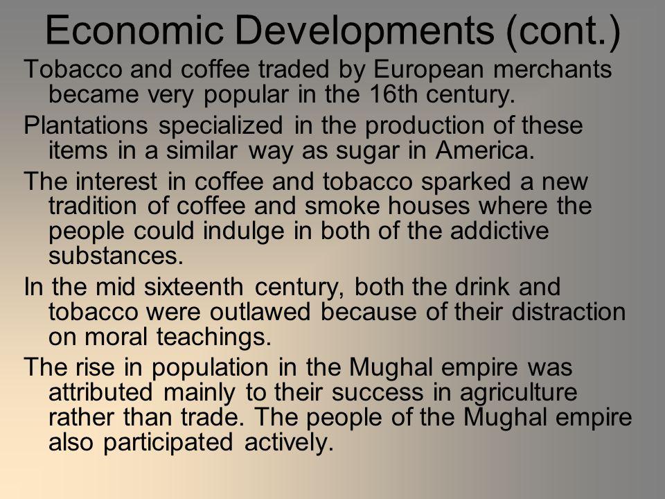 Economic Developments (cont.)