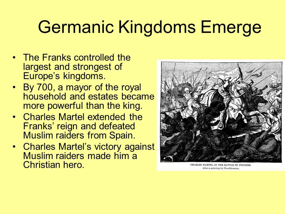 Germanic Kingdoms Emerge