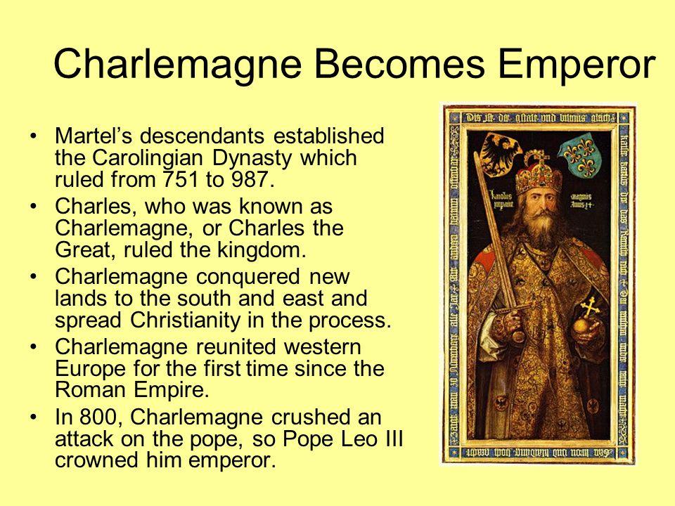 Charlemagne Becomes Emperor