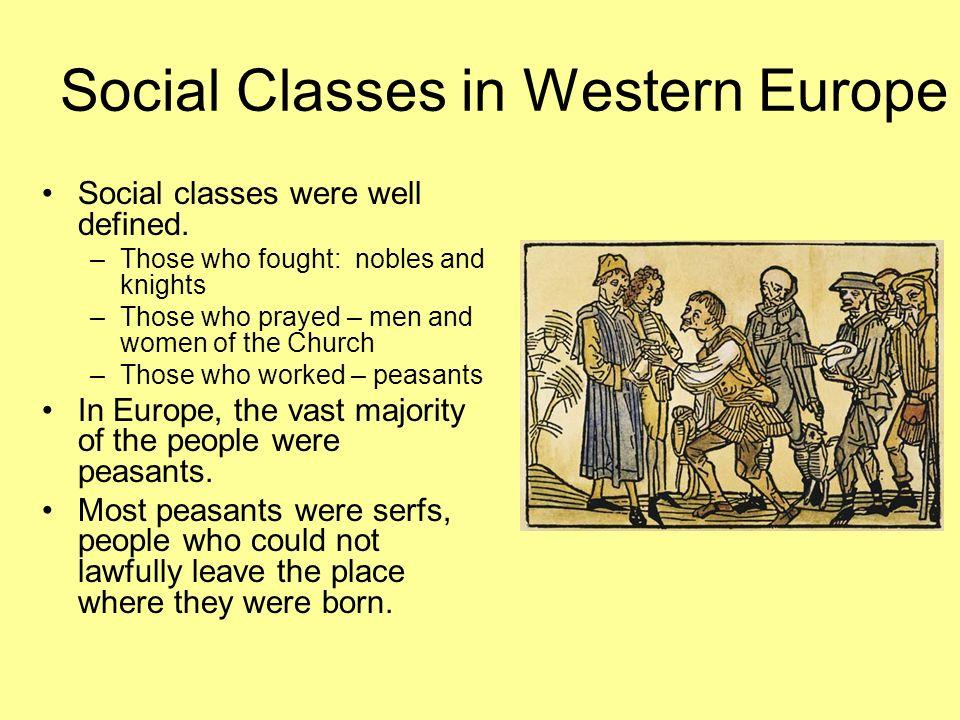 Social Classes in Western Europe