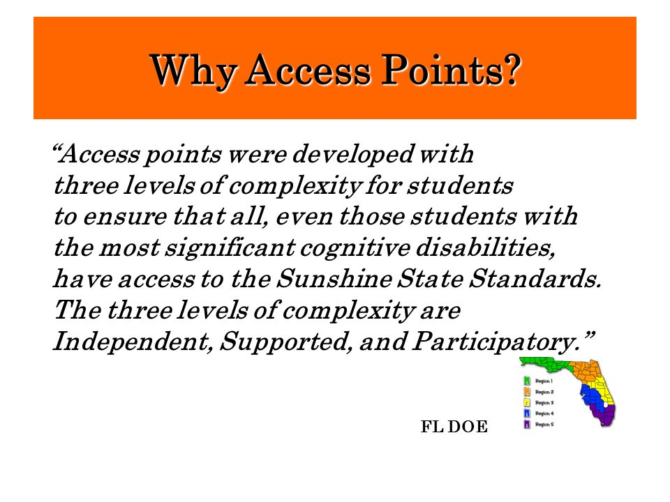 Why Access Points Access points were developed with