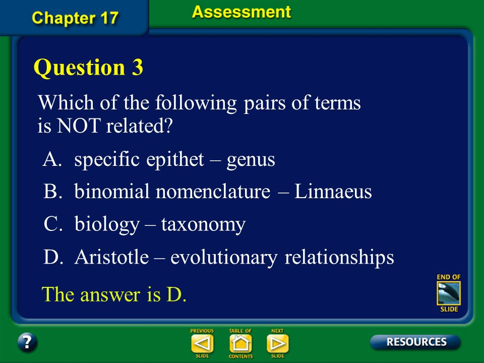 Question 3 Which of the following pairs of terms is NOT related