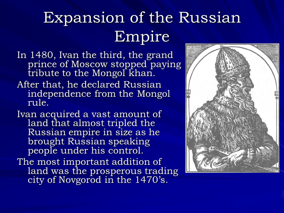Expansion of the Russian Empire