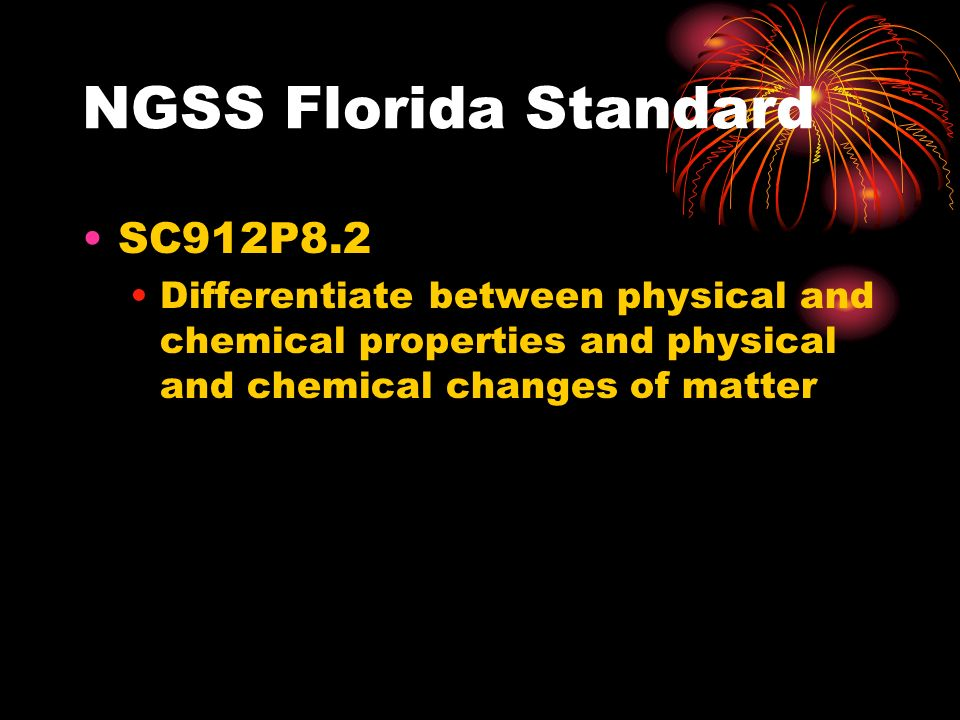 NGSS Florida Standard SC912P8.2