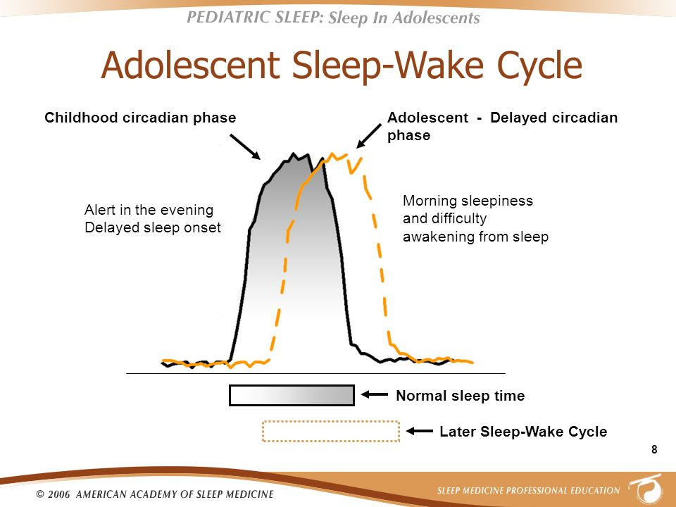 Adolescent Sleep-Wake Cycle