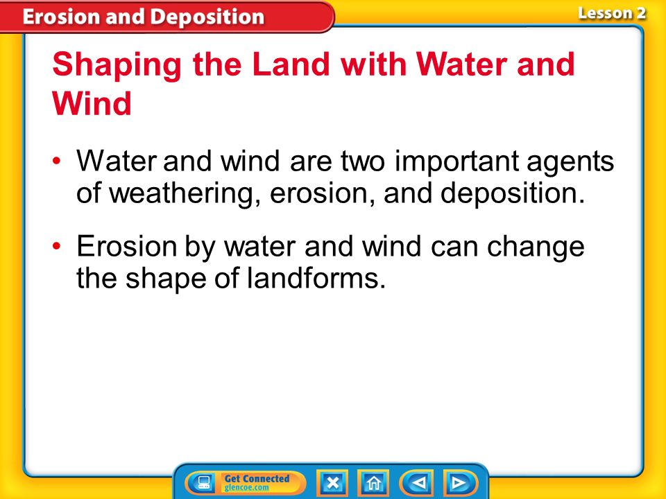 Shaping the Land with Water and Wind