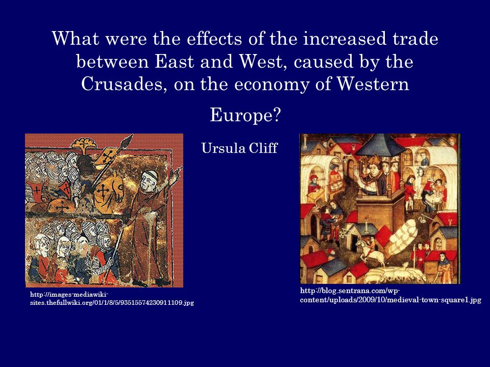 the history and effects of the crusades on medieval europe 76 students analyze the geographic, political, economic, religious, and social structures of the civilizations of medieval europe 6 discuss the causes and course of the religious crusades and their effects on the christian, muslim, and jewish populations in europe, with emphasis on the increasing contact by europeans with cultures of the eastern mediterranean world.