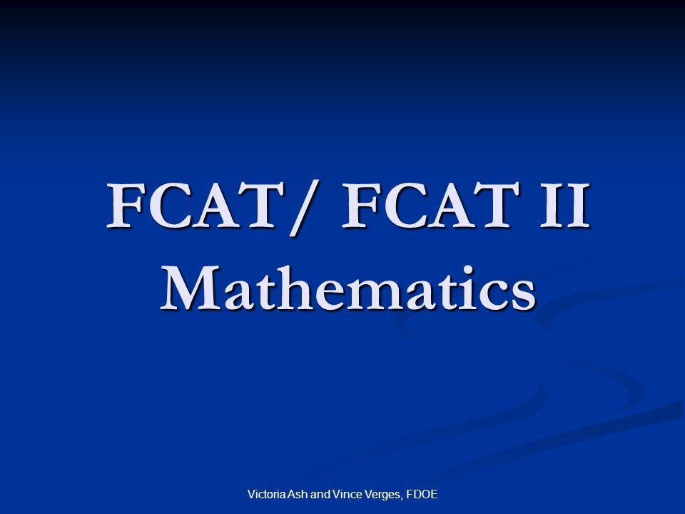 FCAT/ FCAT II Mathematics