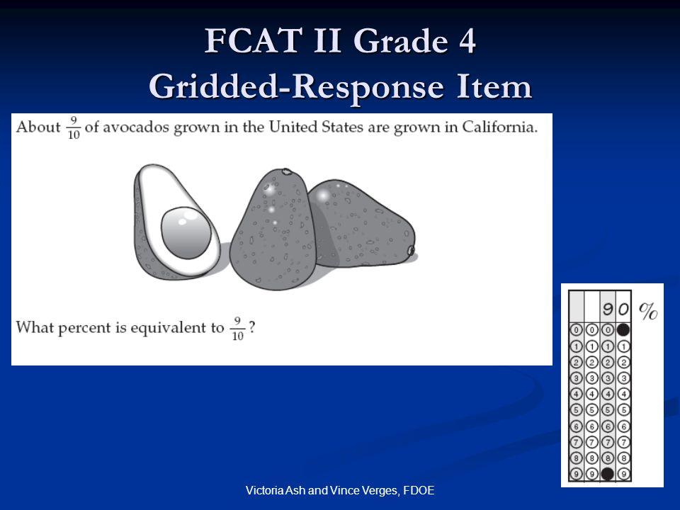 FCAT II Grade 4 Gridded-Response Item