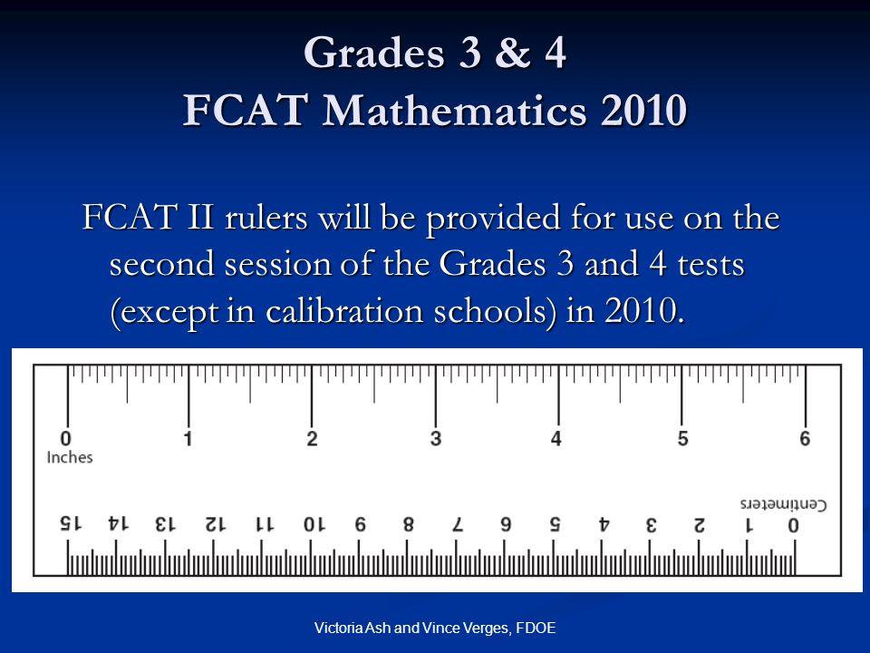 Grades 3 & 4 FCAT Mathematics 2010