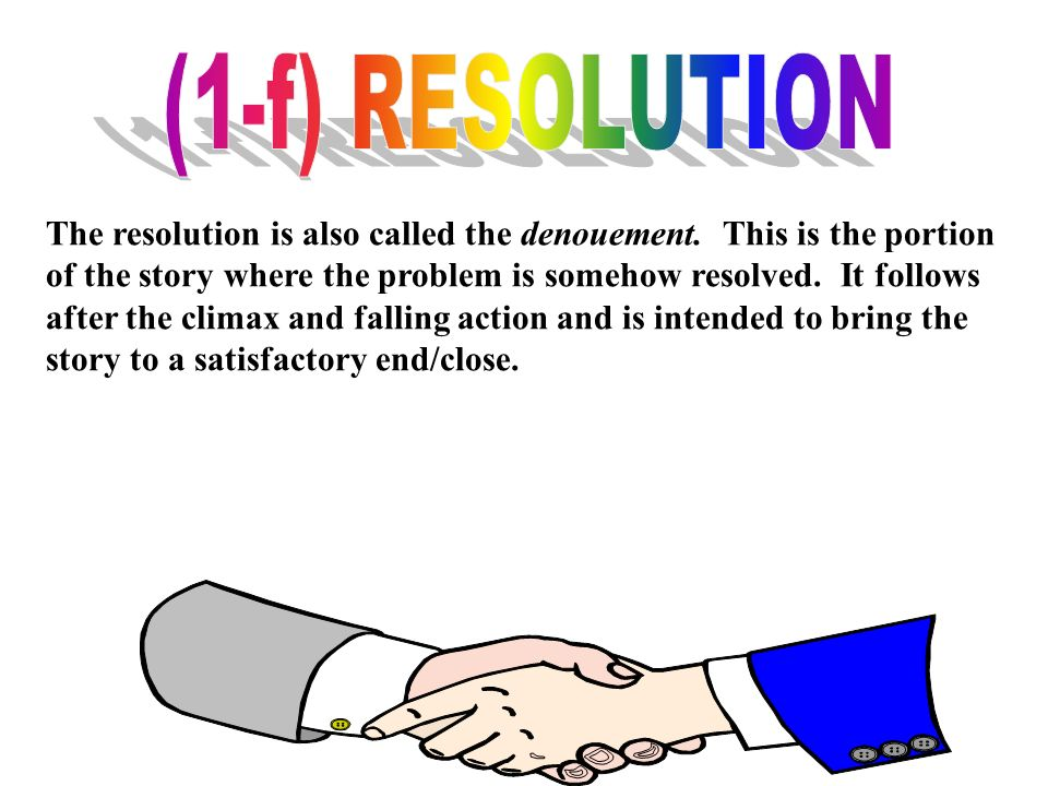 (1-f) RESOLUTION